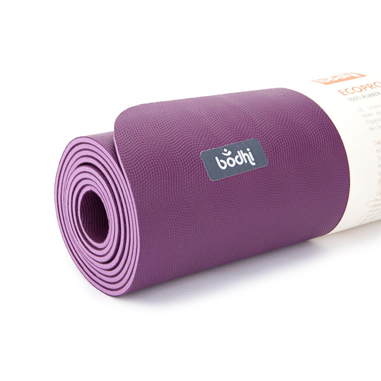 ECOPRO XL - Esterilla de yoga (caucho) morado: Amazon.es ...