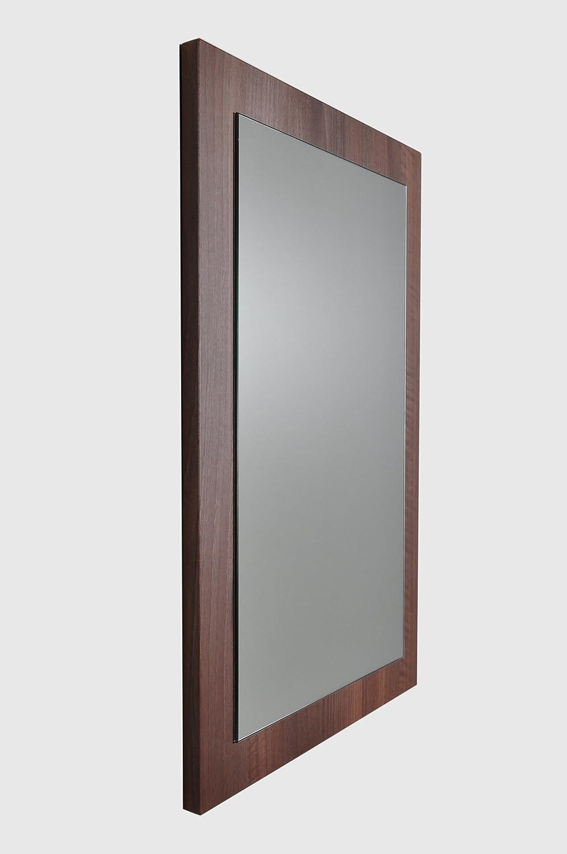 Cabinetsforbathrooms Dark Walnut Finish Bathroom Mirror Amazon Co