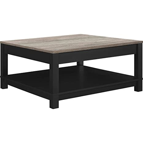 Amazon.com: Square Coffee Table Living Room Home Office ...