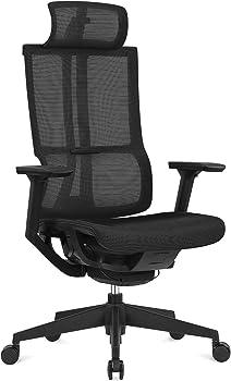 Harbland Ergonomic High Mesh Office Chair with Adjustable Headrest