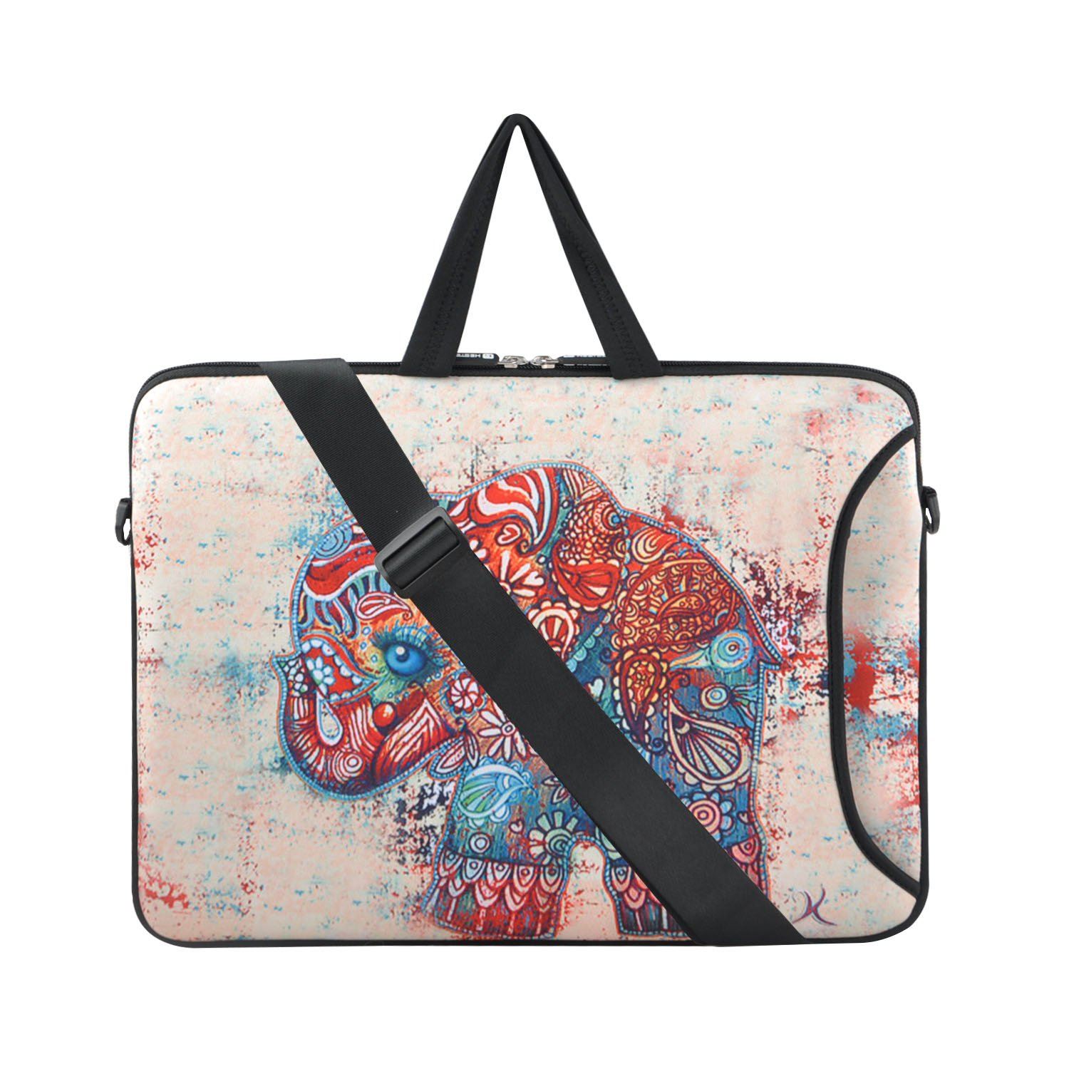 Chromebook Sleeve Laptop Shoulder Bag For Surface Pro 5 Tas Macbook Air Retina 11 12 13 14 15 Inch Notebook 4 3 Apple New A1706 A1708 Dell Xps 116 Asus Samsung