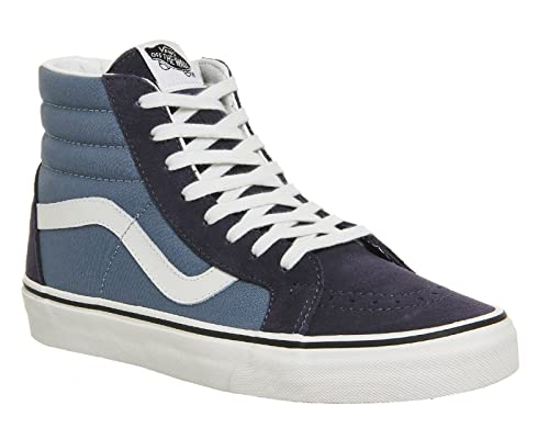 385678c68b Vans SK8-Hi Reissue 2 Tone Parisian Night Blue Mirage Skate Shoes   Amazon.ca  Shoes   Handbags