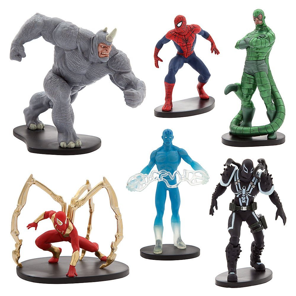 Marvel Ultimate Spider-Man Figure Play Set