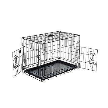 Pet Trex 2191 76,2 cm Haustier Transportbox Hundebox Doppeltür ...