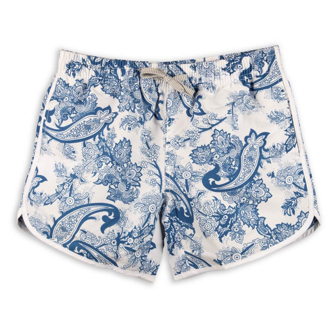 Porcelainbluee PREFER TO LIFE Womens Board Shorts Beach Quick Dry Fabric Swim Slim Trunks Ocean Travel Sports