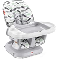 Fisher-Price SpaceSaver High Chair Climbing Leaves, Convertible Infant-to-Toddler Dining Chair with Easy Cleanup…