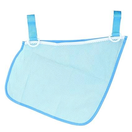 domybest – Carrito de bebé para cochecito carrito de dibujos de bolsa de almacenamiento organizador azul