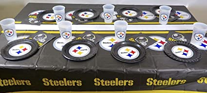 Amazon Pittsburgh Steelers Dads Birthday Party 49 Pieces