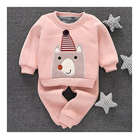 Infantil de grosor ropa traje de oso para bebé niño Niña 0 ...
