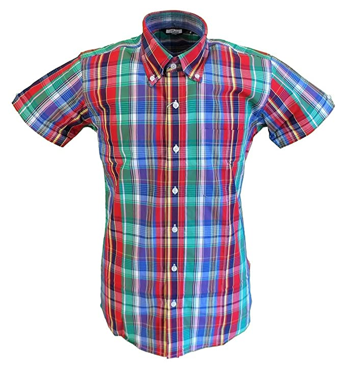 Vintage Shirts – Mens – Retro Shirts Relco Mens Short-sleeved Shirts £28.99 AT vintagedancer.com