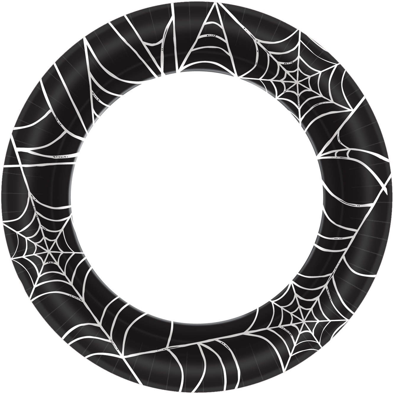 Spider Web Lunch Plates 10''   480 Ct.