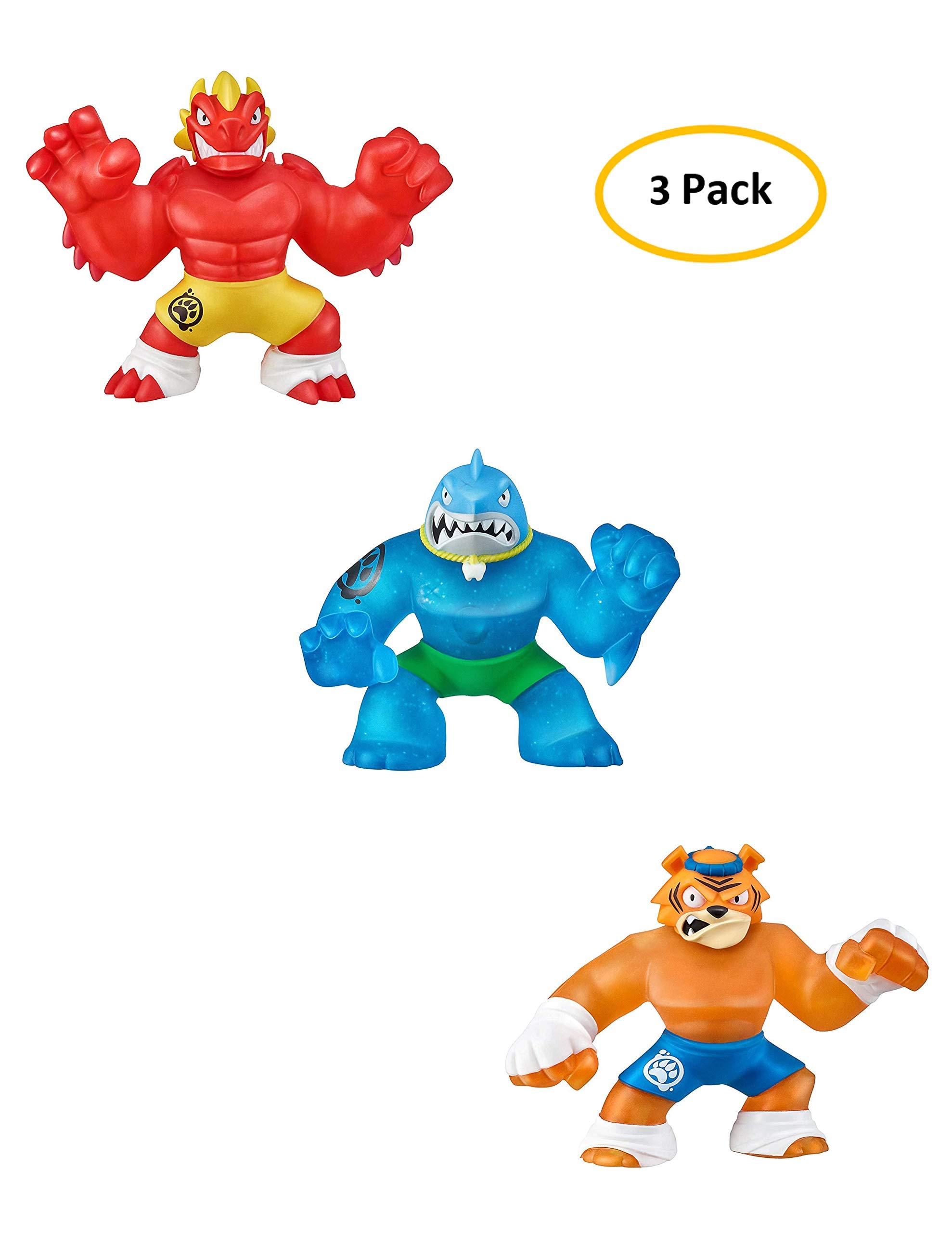 Heroes of Goo Jit Zu Pack - Blazagon - Thrash - Tygor