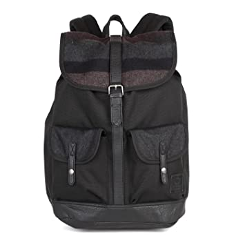 f0915f8948 Vans Backpack - Lean In black multicolor  Amazon.co.uk  Luggage