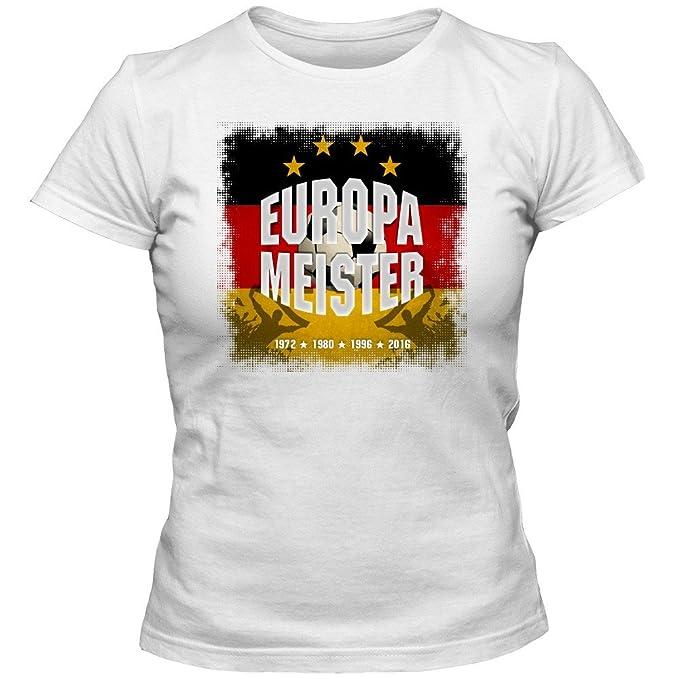 Alemania el Campéon de Europa 2016#1 Camiseta | Mujer | Fútbol | T-