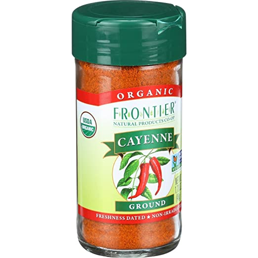 Amazon.com : Frontier Herb Organic Cayenne Ground (1x1.76 OZ) (Multi-Pack) : Gourmet Food : Grocery & Gourmet Food
