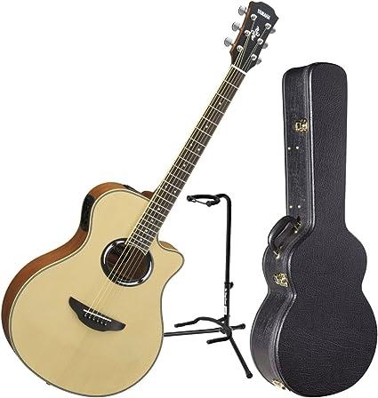 Yamaha apx500iii NT Thinline cuerpo acústica guitarra eléctrica ...