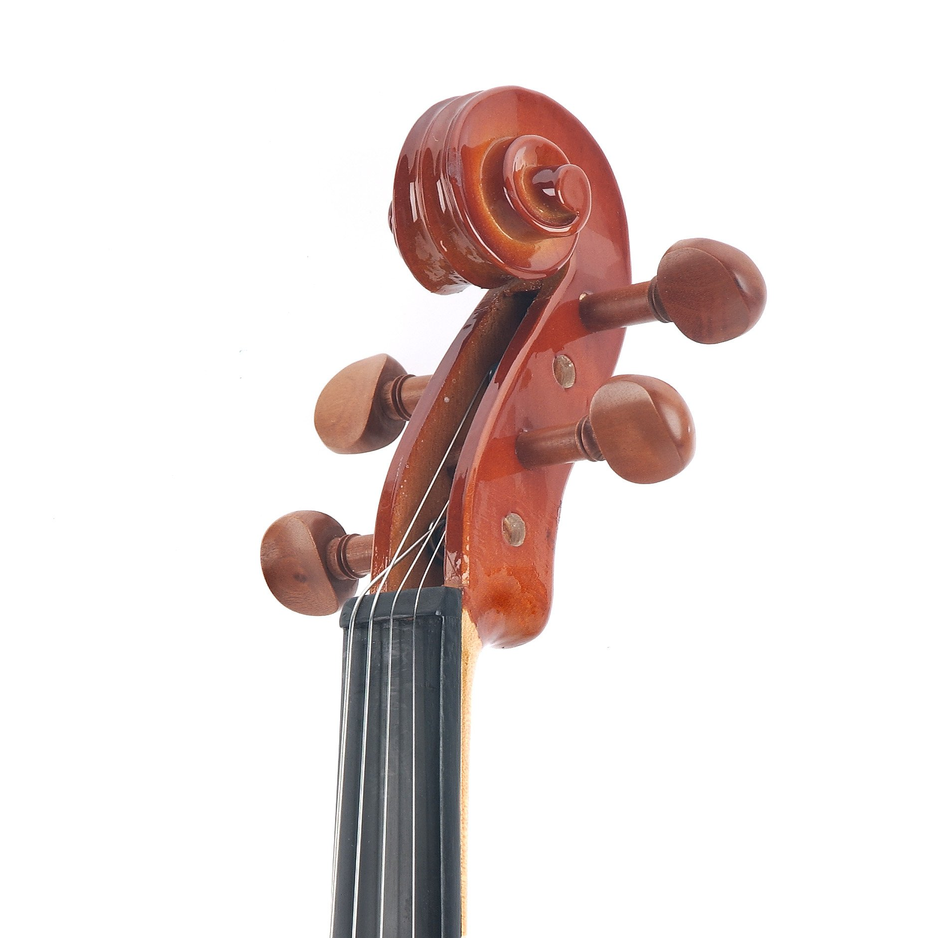 Cecilio CVN-200 Solidwood Violin with D'Addario Prelude Strings, Size 4/4 (Full Size) by Cecilio (Image #7)
