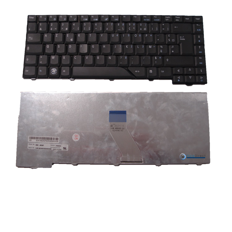 Teclado francés AZERTY para ordenador portátil ACER Aspire 4920 negro - Visiodirect -: Amazon.es: Informática
