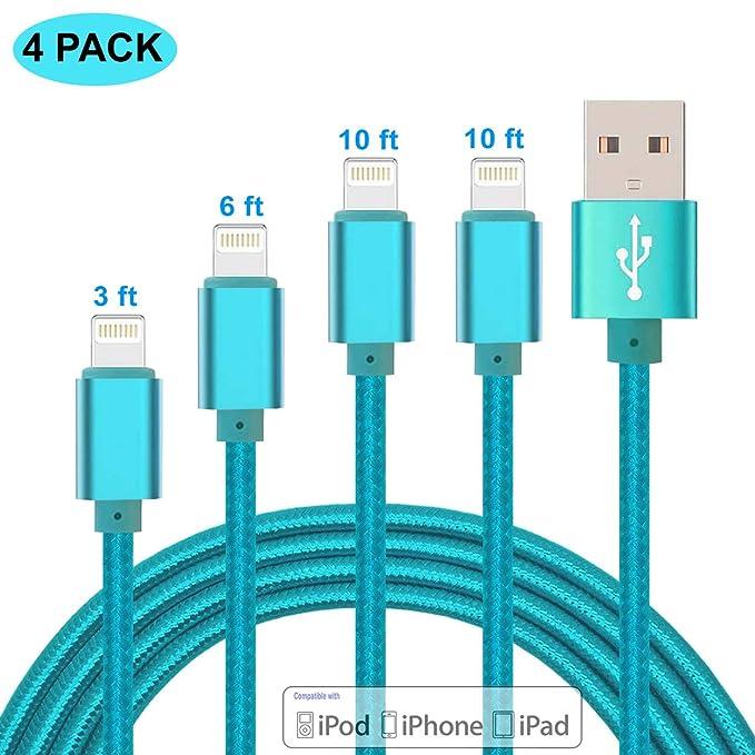 Cable de Carga Lightning para iPhone, Cable de Carga de ...