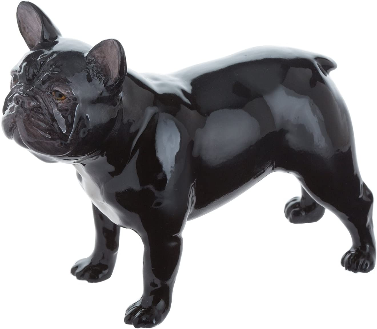 John Beswick: Figura de Bulldog francés, Negro/Multicolor