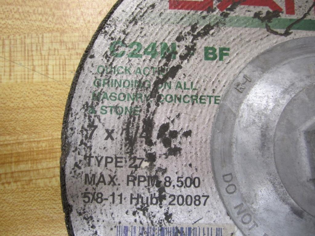 Sait C24N-BF C24NBF Grinding Wheel