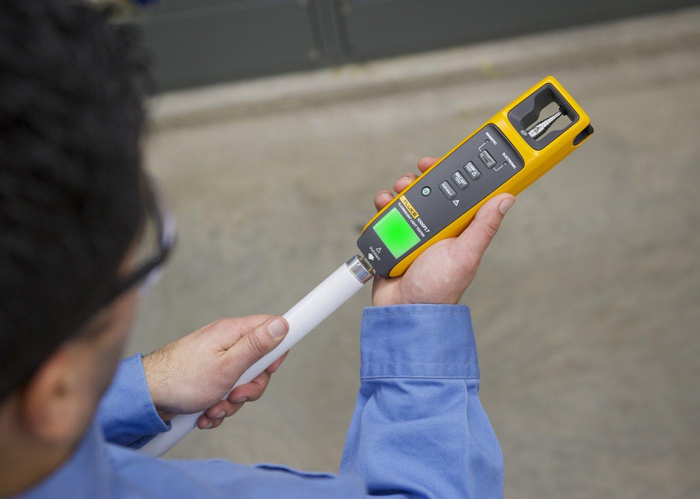 Fluke 1000FLT Fluorescent Light Tester, Yellow