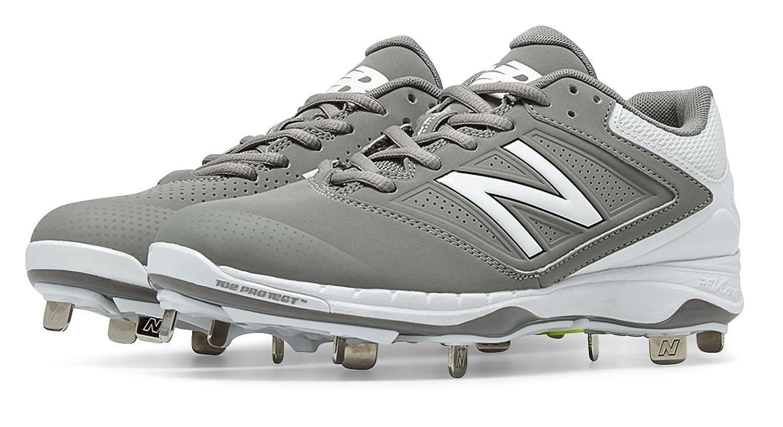 (ニューバランス) New Balance 靴シューズ レディースソフトボール Low Cut 4040v1 Metal Cleat Grey with White グレー ホワイト US 10.5 (27.5cm) B014I8UH98