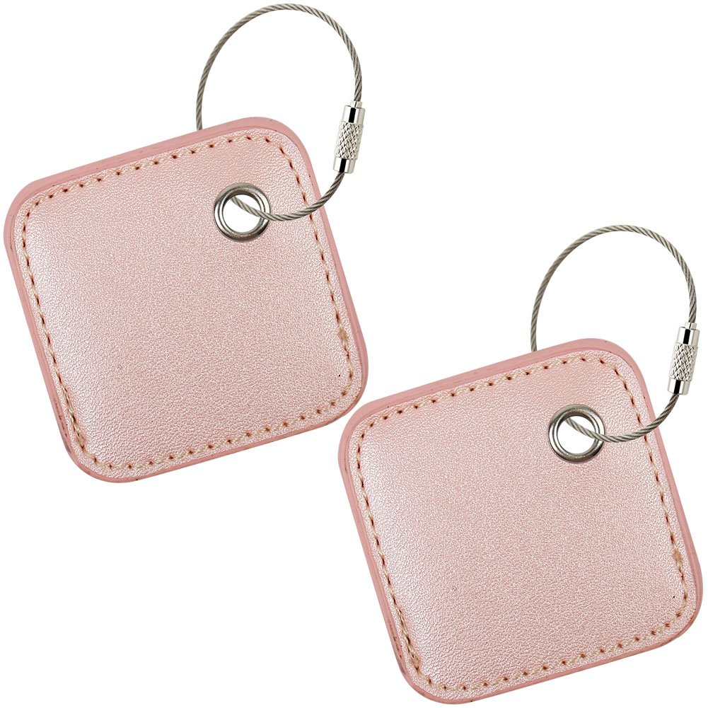 for Tile Mate - Key Finder. Phone Finder. Anything Finder. Tile Mate Case Cover with Keychain. Tile Mate Skin PU Leather Protection - Pink2 by PAIYULE (Image #1)