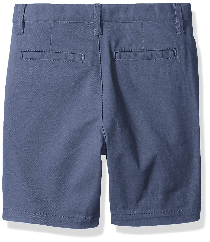 Essentials Boys Flat Front Uniform Chino Short