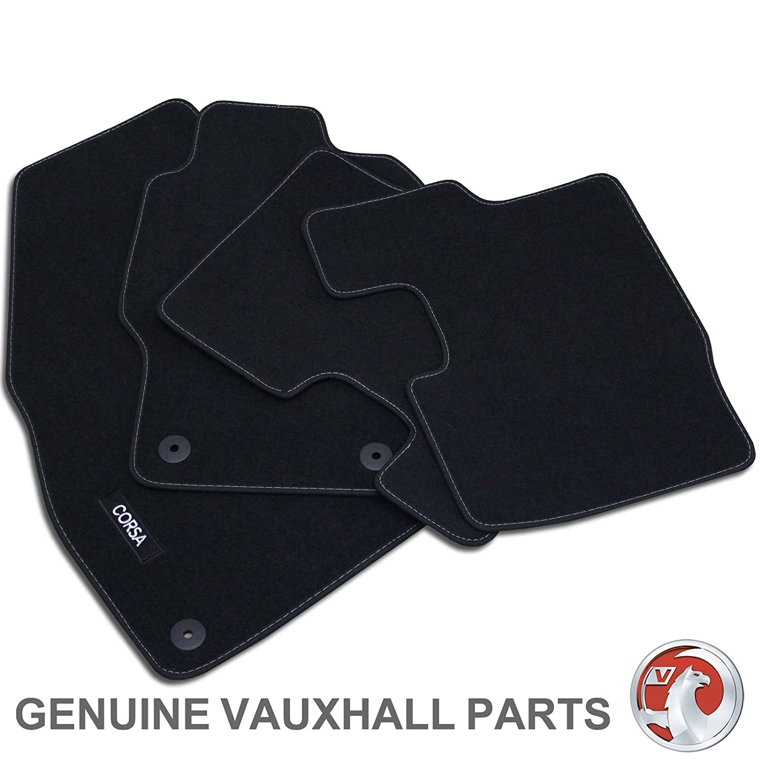Deluxe Quality Car Mats for Vauxhall Antara 2006 Onwards ** Black **