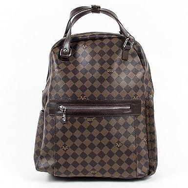 4bfd92e518 Versace 19.69 Abbigliamento Sportivo Srl Milano Italia Mens Backpack  V1969016 COFFEE COFFEE  Amazon.co.uk  Clothing