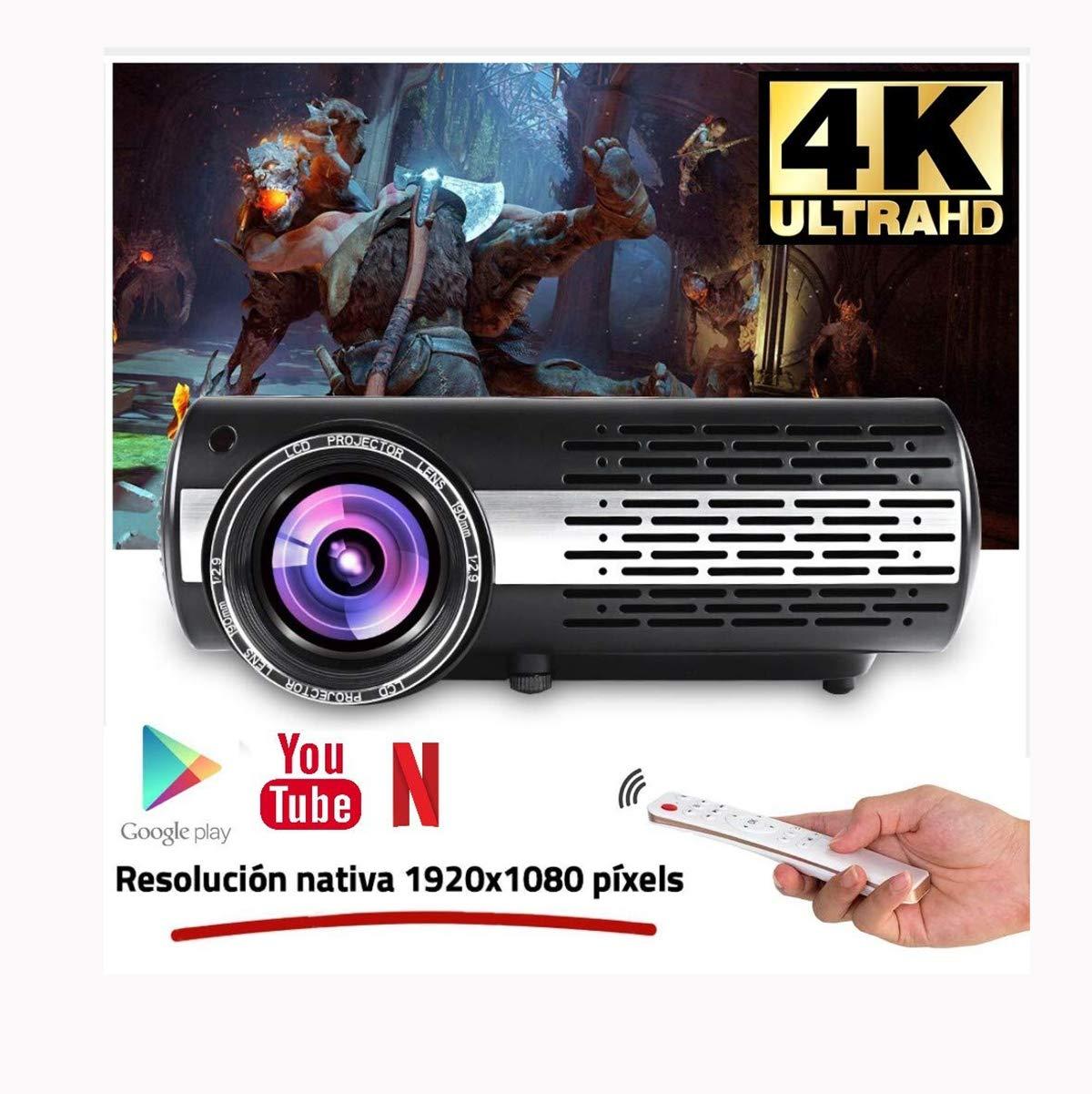 Ai LIFE Proyector Full HD 1080P de 16000 lúmenes (1920 x 1080 ...