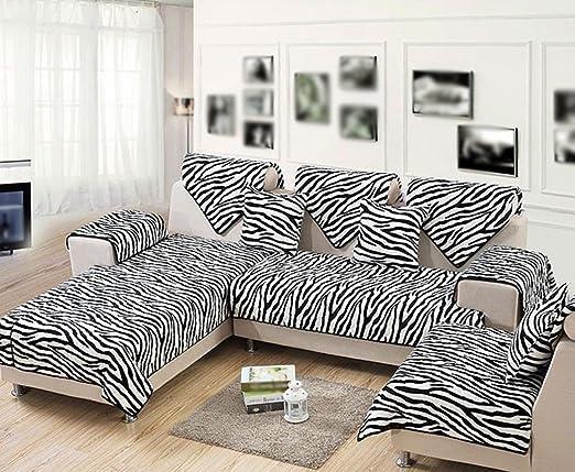 Carpet..B ASL Blanco y Negro sofá Almohada cojín de Moda ...