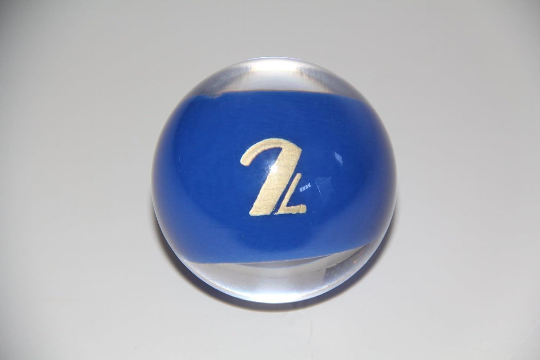 交換用ボール# 2 – EPCO clear-roccoスタイルビリヤードまたはプールセット、4.2 Oz、2.25