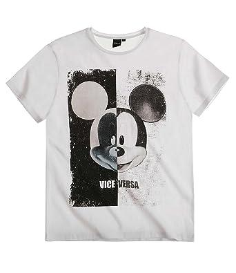 Disney Mickey Herren T Shirt 2016 Kollektion weiß: Amazon