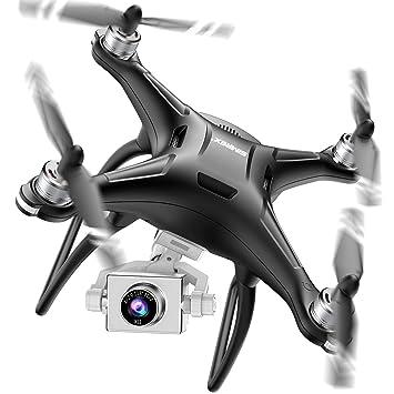 SIMREX X11 GPS mejorado Drone con cámara 1080P HD 2 ejes ...