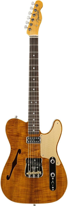Fender Custom Shop Limited Edtion Artisan Telecaster Caballo Tono Ligero Koa: Amazon.es: Instrumentos musicales