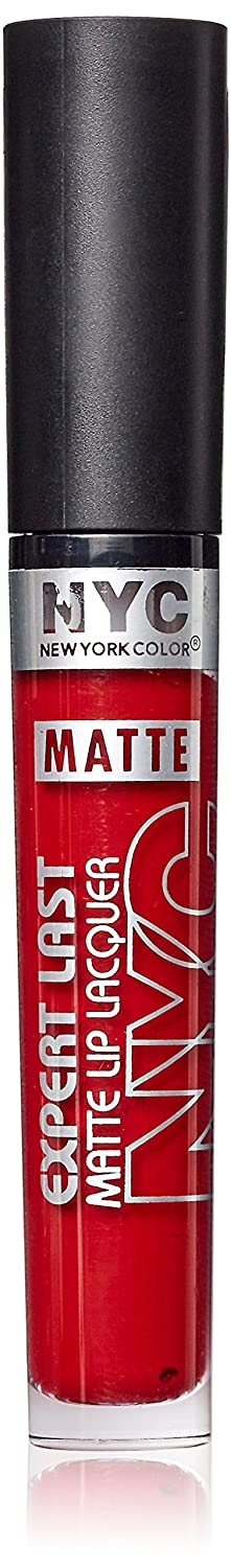 NYC Expert Last Matte Lip Lacquer - Riverdale Matte Red N.Y.C. New York Color COSNYC046