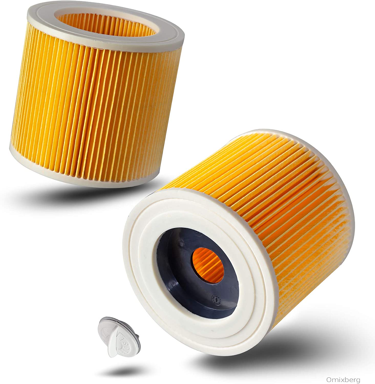 WD 3500 P K/ärcher MV3 WD 3300 M SE 4002 2er Patronenfilter Vorteilspack Ersatzfilter Patronen f/ür K/ärcher WD 2 WD 3 SE 4001 1:1 optimiert und passend f/ür 6.414-522.0 WD 3200