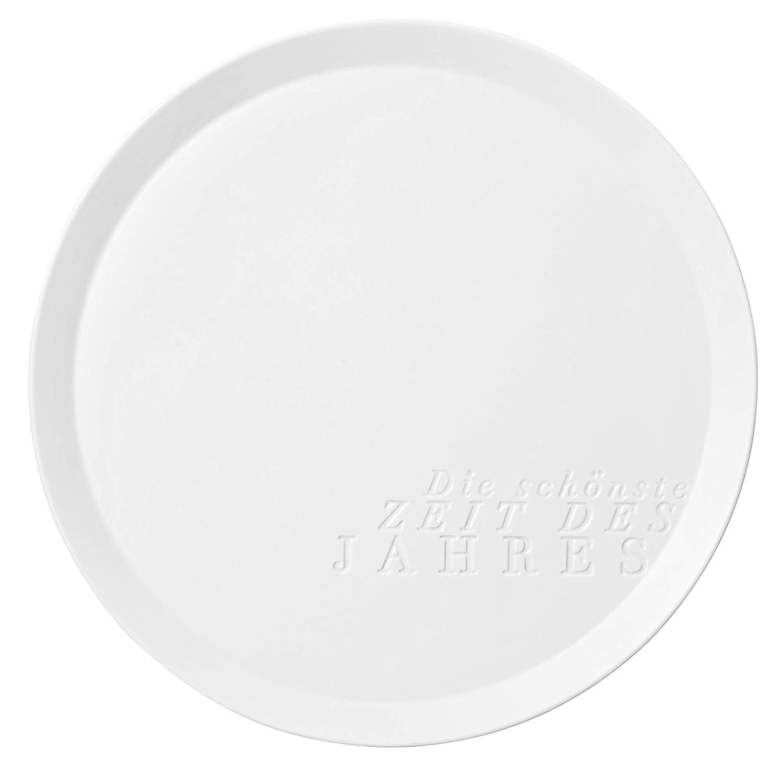 Räder 89247 Centerpiece Centerpiece Centerpiece - Teller - Die schönste Zeit des Jahres - Ø 35,5cm 7f2a9b