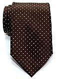 Prämie Gewebte Krawatte Kleinen Punkten 8 cm - in verschiedenen Farben