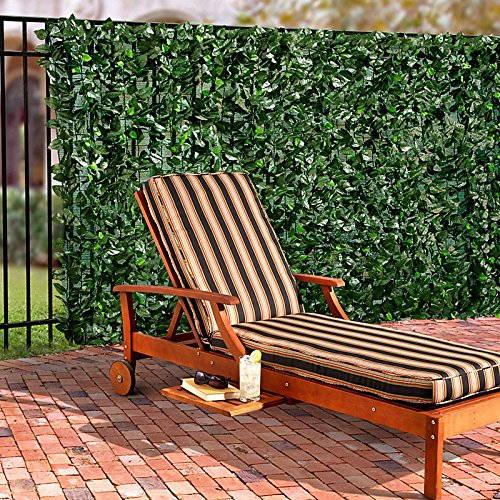Faux Pothos Leaves Privacy Screen - Improvements