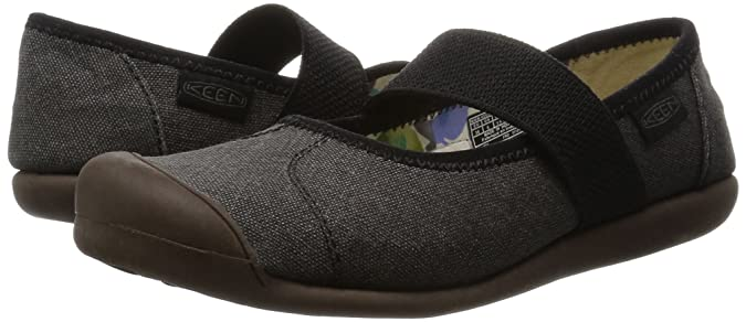 KEEN Mujeres Sienna MJ Canvas Mary Jane, New Black, 5.5 M US ...
