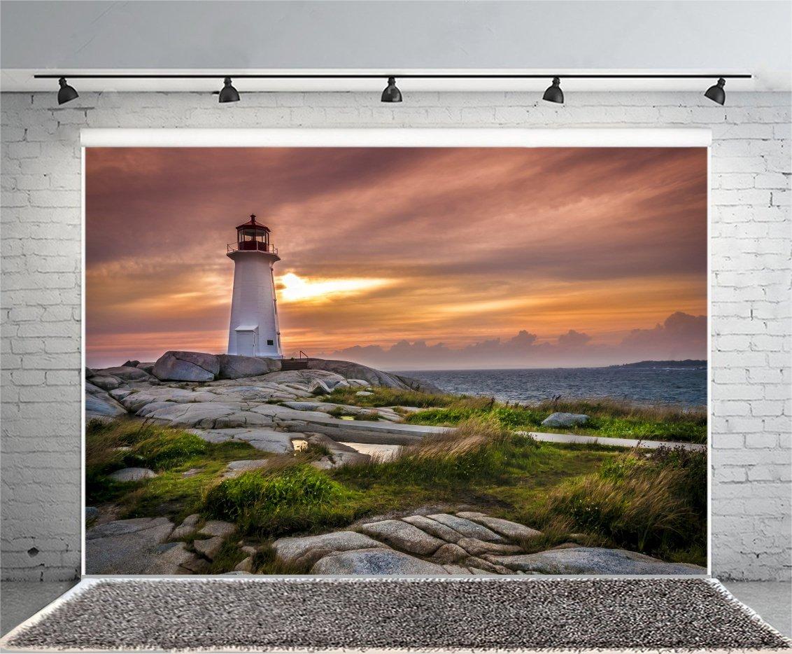 新作モデル 背景 写真 海辺 Lfeey 7x5フィート B07bgyjphr 壁紙 ビデオ