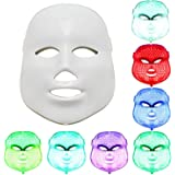 NEWEST LED Photon Therapy 7 Colors ( Red Blue Green )Light Treatment Facial Beauty Skin Care Rejuvenation Pototherapy Mask PDT Beauty Face Care for Home