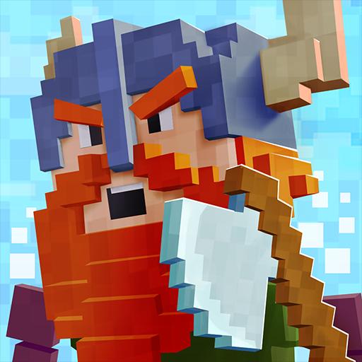 Viking Village (Vikings Pixel Warfare Pro)