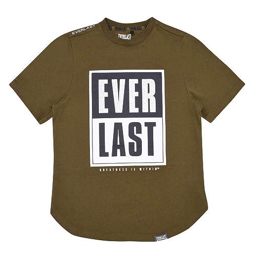 Everlast Niños Urban Camiseta Sin Mangas Caqui EU 41 (UK 13): Amazon.es: Ropa y accesorios