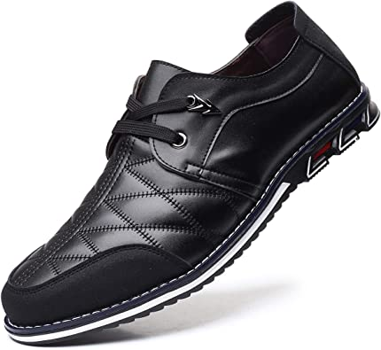 black casual slip on shoes