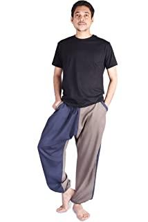 140d8db0f17cb bombay trooper Men s Hopper Pants Harem Style Pants Pajamas Track ...