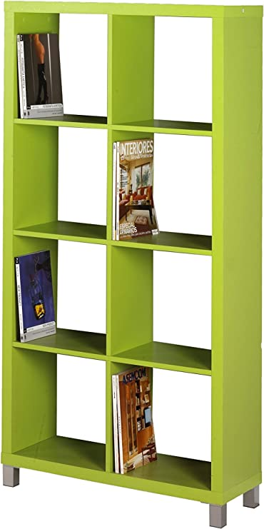 Kit Closet Estanter/ía Kubox 4 huecos verde